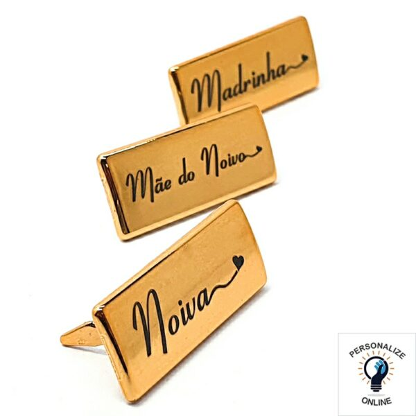 Etiqueta personalizada para casamento 3.5x1.5 cm kit com 13 unidades noiva, mãe da noiva ,mãe do noivo, madrinhas
