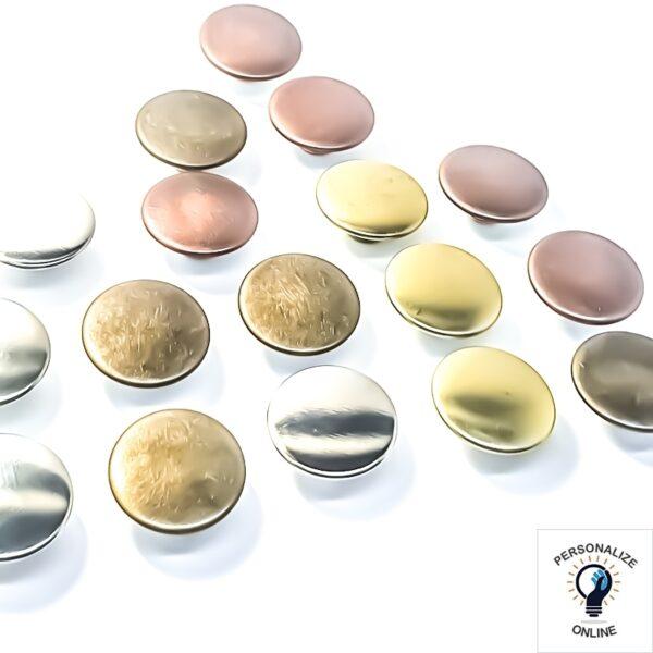Botao-ferro-varias-cores-20-mm-ouro-velho-latonado ou prata. não percam nossas promoções