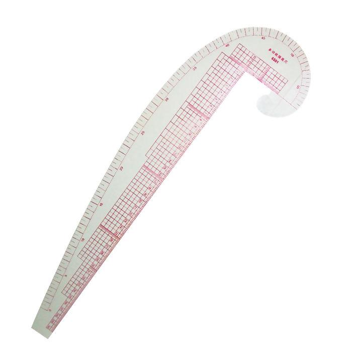 Régua para modelagem curva