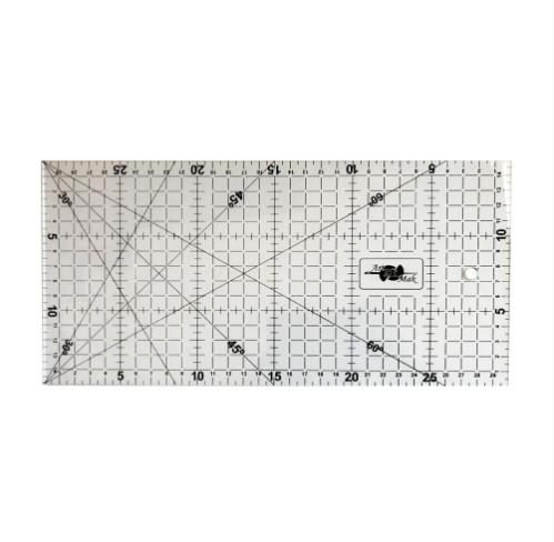 Régua para patchwork 15x30 cm